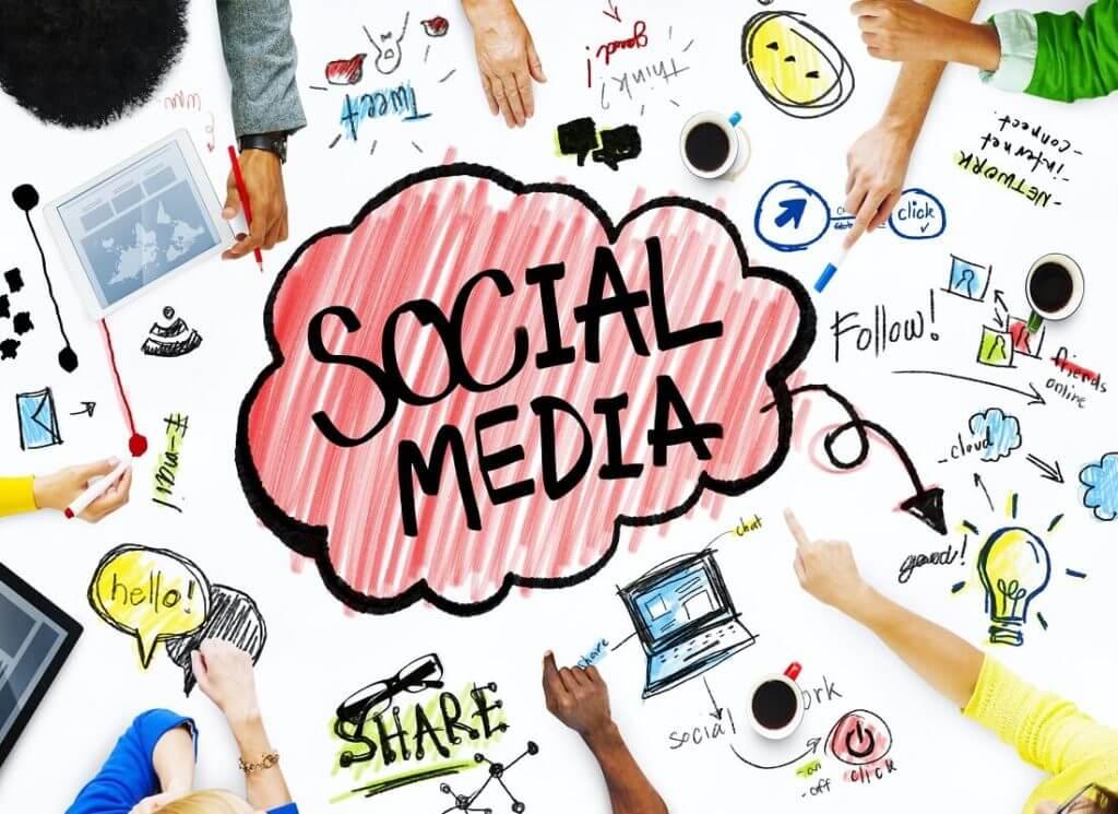 Social Media Images Management Photo